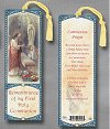 Girl's First Communion Laminated Keepsake Bookmark, # 24229