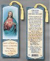 Prayer to Sacred Heart Laminated Keepsake Bookmark, # 24231