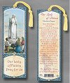 Our Lady Fatima Laminated Keepsake Bookmark, # 97246