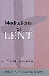 Meditations for Lent - St. Alphonsus Liguori, # 11696