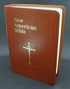 New American Bible Revised Ed., Brown Imitation Leather, # 1323
