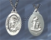 St Michael / Guardian Angel Sterling medal, # 2398