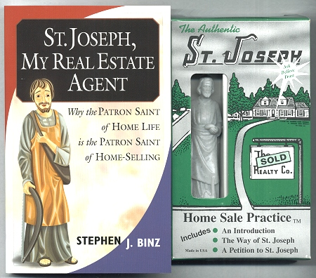 St Joseph Home Sale Kit Book And Statue