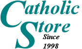 Catholic saints, books, medals, statues, rosaries