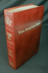 New American Bible Revised Ed,, Brown Bonded Leather, # 1322