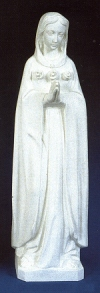 Mystical Rose 24in. Outdoor Statue White # 16433
