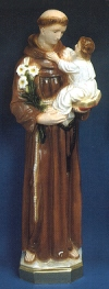 St. Anthony 24in. Outdoor Statue Colored # 16438