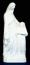 St. Anne & Mary 24in. Outdoor Statue White # 16439