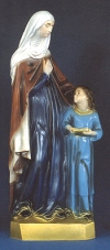 St. Anne & Mary 24in. Outdoor Statue Colored # 16440
