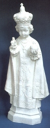 Infant Of Prague 24in. Outdoor White Statue # 16452