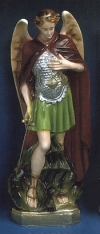 St. Michael 24in. Outdoor Statue Colored # 16464