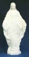 Our Lady Of Grace 32in. Outdoor Statue White # 16479