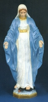Our Lady Of Grace 32in. Outdoor Statue Colored # 16480