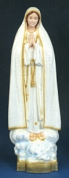 Our Lady of Fatima Outdoor Statue 32 In. Colored # 16486