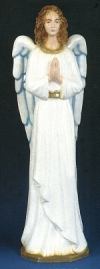 Standing Angel Outdoor Statue 36 in. Colored # 16488