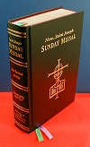 New St. Joseph Sunday Missal , Black Hardcover, # 1788