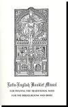 Latin-english Booklet Missal - Traditional Mass For The Bridegroom And Bride, # 52387