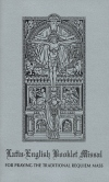 Latin-english Booklet Missal - For Traditional Requiem Mass, # 52386