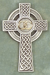 Wedding / Anniversary Celtic Cross in Pewter 8