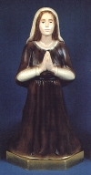 St. Bernadette Outdoor Statue Colored 16 In. # 19680