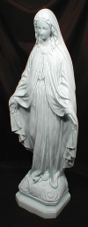Our Lady Of Grace - Outdoor Staute 24 Inch Granite Finish # 7442