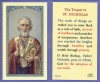The Tropar To St. Nicholas, Laminated Holy Card, 25-pack, # 59084