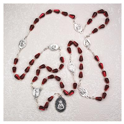 how to say the seven sorrows rosary