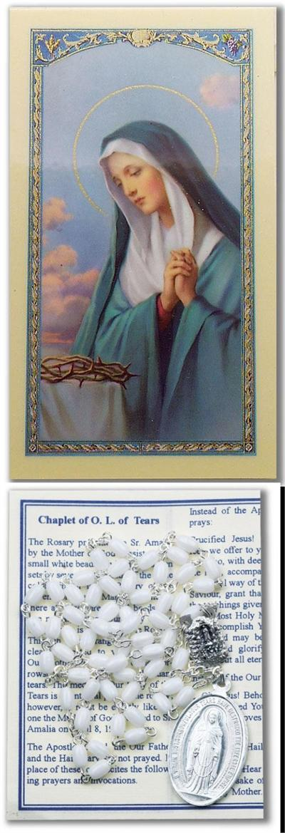 Our Lady Of Tears Chaplet 95247