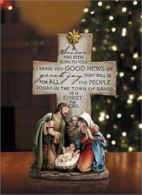 "12"" A Savior Is Born Figurine, # 3904"
