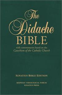 The Didache Bible with Commentary, Leather, # 45566
