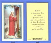 Behold Prayer, Laminated Holy Card, 25-pack,. # 59041.