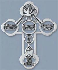 "5"" Gifts of the Spirit Wall Cross, # 62002"