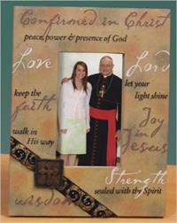 "8-1/8"" Confirmation Photo Frame, #71038"