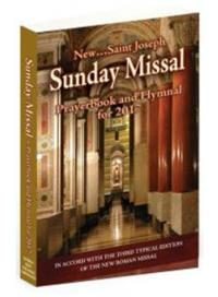 2017 Sunday Missal, Annual Paperback, # 89160