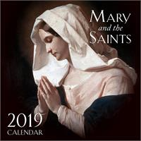 2019 Mary and the Saints Wall Calendar, # 90111