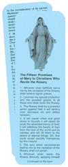 Promises of Mary Prayercard: For Those Who Say the Rosary, 100 pack, , # 1931