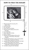 How to Say the Rosary with Luminous Mysteries Leaflet (Pack of 100), # 2522