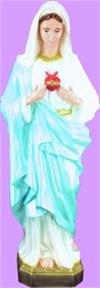 Immaculate Heart of Mary Outdoor Statue, 36