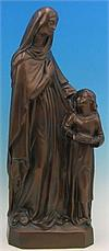St. Anne & Mary Outdoor Statue, 24