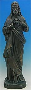 Sacred Heart Outdoor Statue, 32
