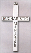 Eucharistic Minister Cross Necklace 2.5