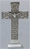 Confirmation Pewter Standing Cross 6