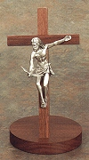 Gift of the Spirit Pewter Standing Crucifix 8 In., # 16106