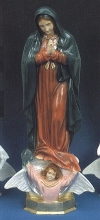 Our Lady Of Guadalupe 24in. Outdoor Statue Colored # 16449