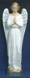 Standing Angel Outdoor Statue 24 in. Colored # 16468