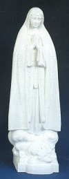 Our Lady of Fatima Outdoor Statue 32 In. White # 16485