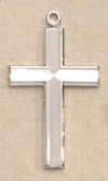 1 In. Basic Cross in Sterling, # 19878