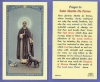 St Martin De Porres Laminated Holy Card, 25-pack, # 99888