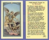 St Michael Police Laminated Holy Card, 25-pack, # 99821
