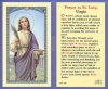 St Lucy Laminated Holy Card, 25-pack, # 99881